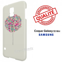 Galaxy S5 Mini Arbre multicolor paint