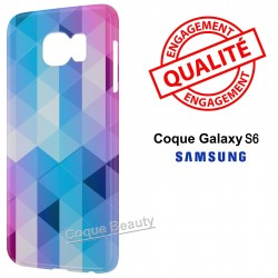 Coque Galaxy S6 3D Diamond Colors