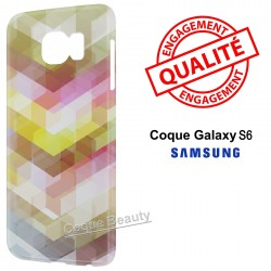 Coque Galaxy S6 3D Transparence Design