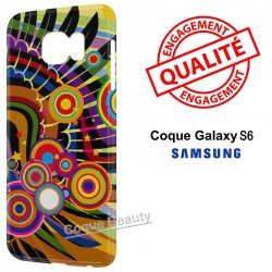 Coque Galaxy S6 Aile d'aigle Design
