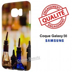 Coque Galaxy S6 Alcool Cocktails
