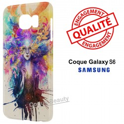 Coque Galaxy S6 Angel colors