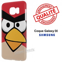 Coque Galaxy S6 Angry Birds