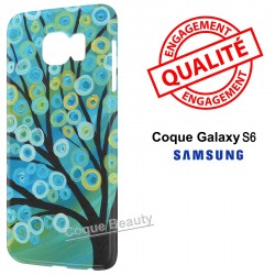 Coque Galaxy S6 Arbre Paint