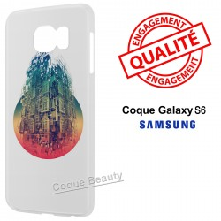 Coque Galaxy S6 Architecture 3D