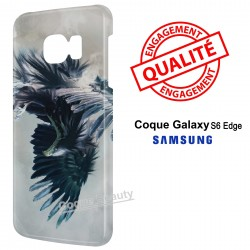 Galaxy S6 Edge Aigle bleu