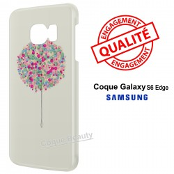 Galaxy S6 Edge Arbre multicolor paint