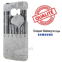 Galaxy S6 Edge Code Barre Street Art
