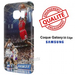 Galaxy S6 Edge Basketball Dunk Bulls