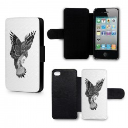 Etui Housse iPhone 4 & 4S Aigle