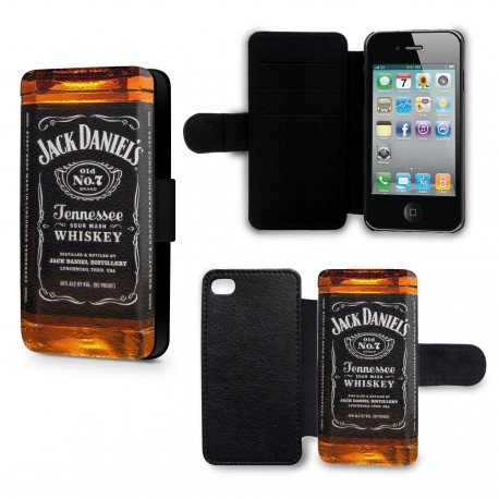 Etui Housse iPhone 4 & 4S Alcool Jack Daniels