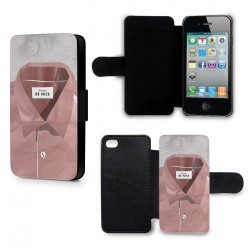 Etui Housse iPhone 4 & 4S Always be Nice