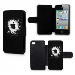 Etui Housse iPhone 4 & 4S Apple Splash