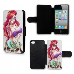 Etui Housse iPhone 4 & 4S Ariel tatou?e 2