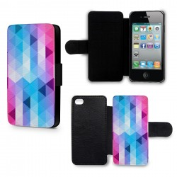 Etui Housse iPhone 5 & 5S 3D Diamond Colors