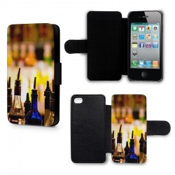 Etui Housse iPhone 5 & 5S Alcool Cocktails