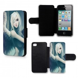 Etui Housse iPhone 5 & 5S Angel