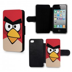 Etui Housse iPhone 5 & 5S Angry Birds