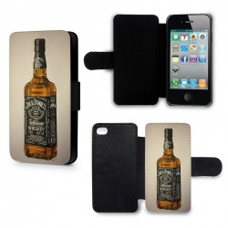 Etui Housse iPhone 6 Plus (+) Alcool Jack Daniels vintage