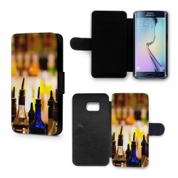 Etui Housse Galaxy S6 Edge Alcool Cocktails