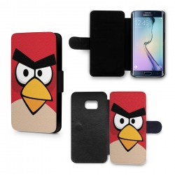 Etui Housse Galaxy S6 Edge Angry Birds