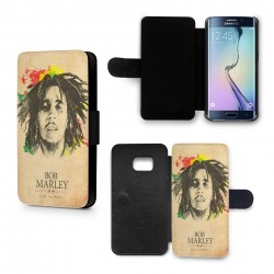 Etui Housse Galaxy S6 Bob Marley Feel No Pain