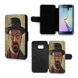 Etui Housse Galaxy S6 Breaking Bad Heinsenberg 6