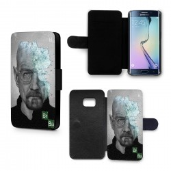 Etui Housse Galaxy S6 Breaking Bad Heinsenberg Walter White
